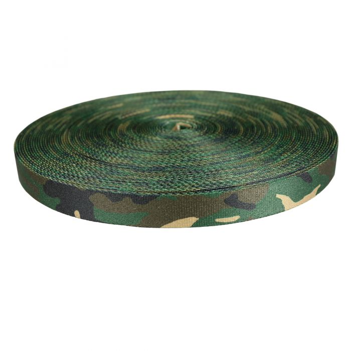 1 Inch Picture Quality Polyester Webbing Camouflage Original