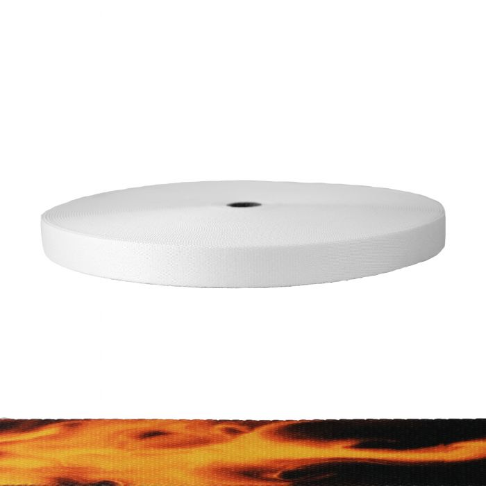 1 Inch Picture Quality Polyester Webbing Fire