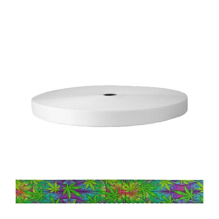 1 Inch Picture Quality Polyester Webbing Nu Canna Alien Skin