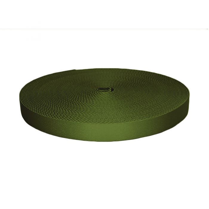 1 Inch Picture Quality Polyester Webbing Olive Drab