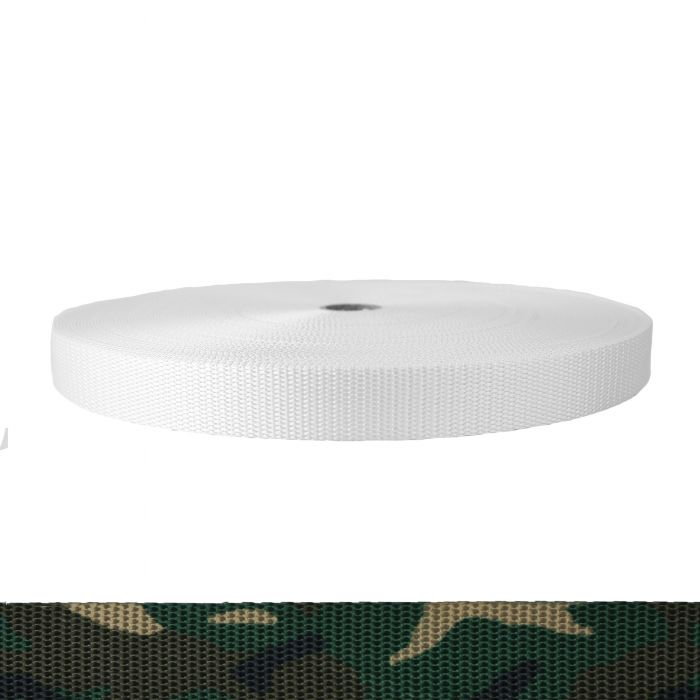 1 Inch Utility Polyester Webbing Camouflage Original
