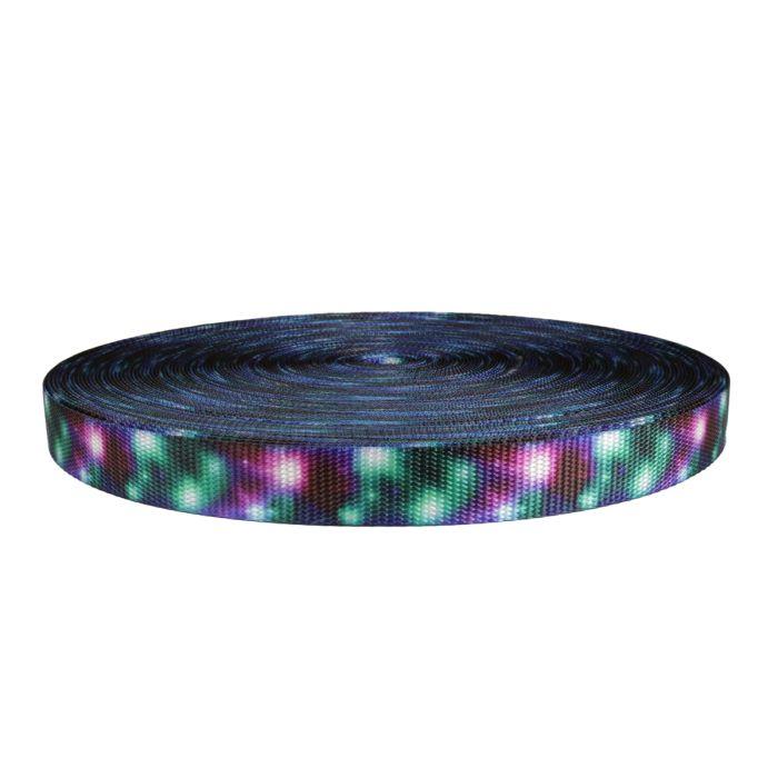 1 Inch Utility Polyester Webbing Cosmic Ray
