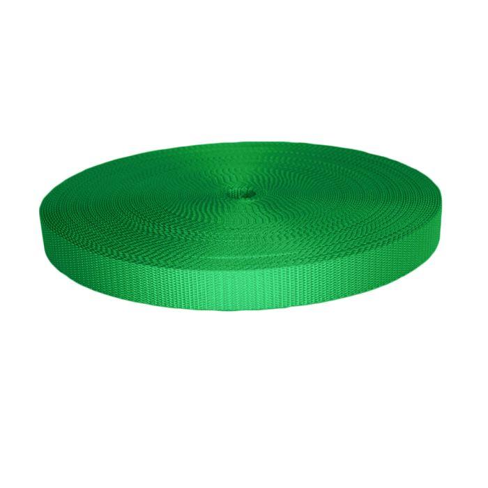 1 Inch Utility Polyester Webbing Green