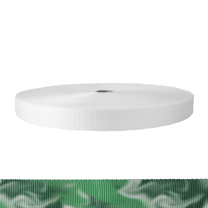 1 Inch Utility Polyester Webbing Green Smoke