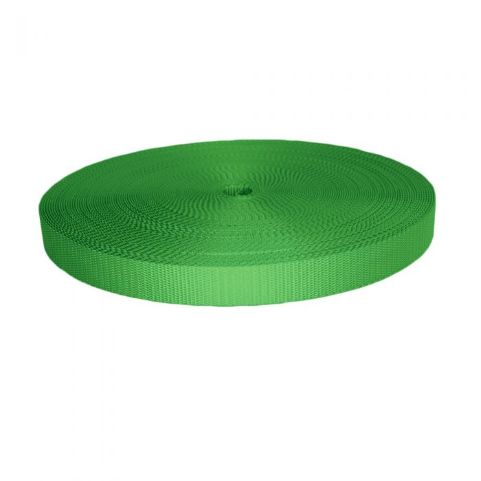 1 Inch Utility Polyester Webbing Lime Green