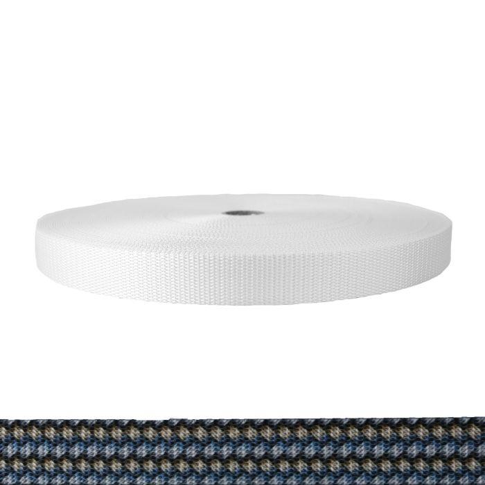 1 Inch Utility Polyester Webbing Metal Weave
