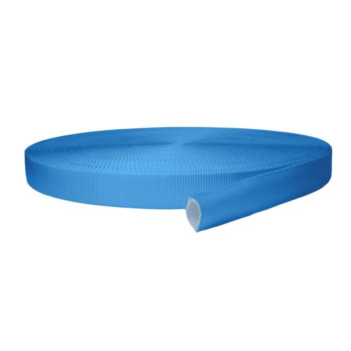 1 Inch Tubular Polyester Blue