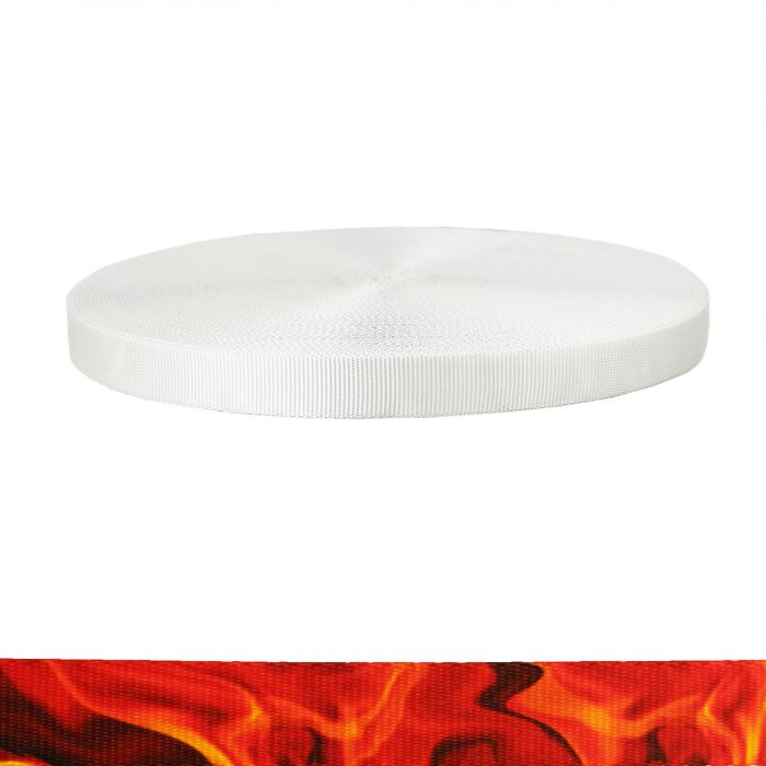 1 Inch Tubular Polyester Blaze