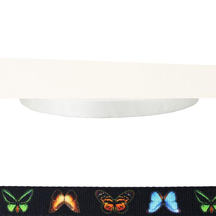 1 Inch Tubular Polyester Butterflies