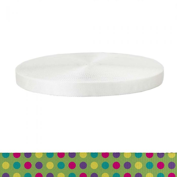1 Inch Tubular Polyester Candy Dots