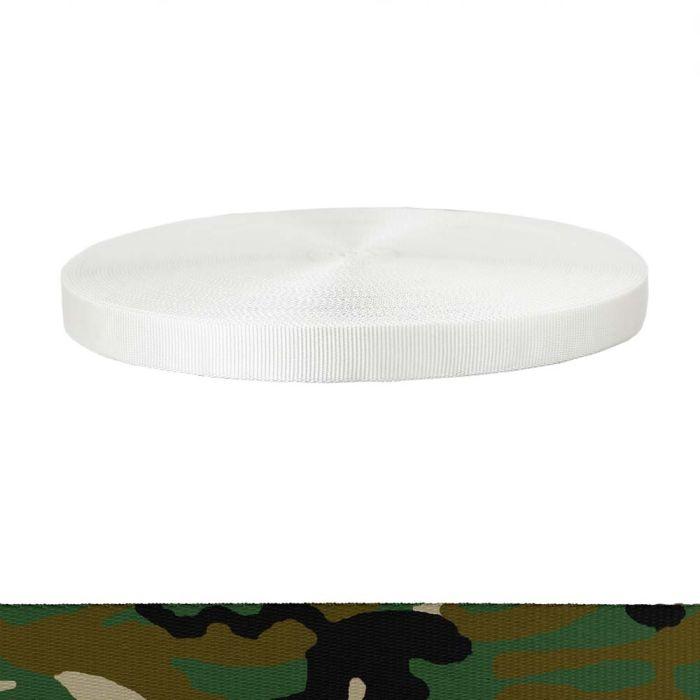 1 Inch Tubular Polyester Camouflage Original