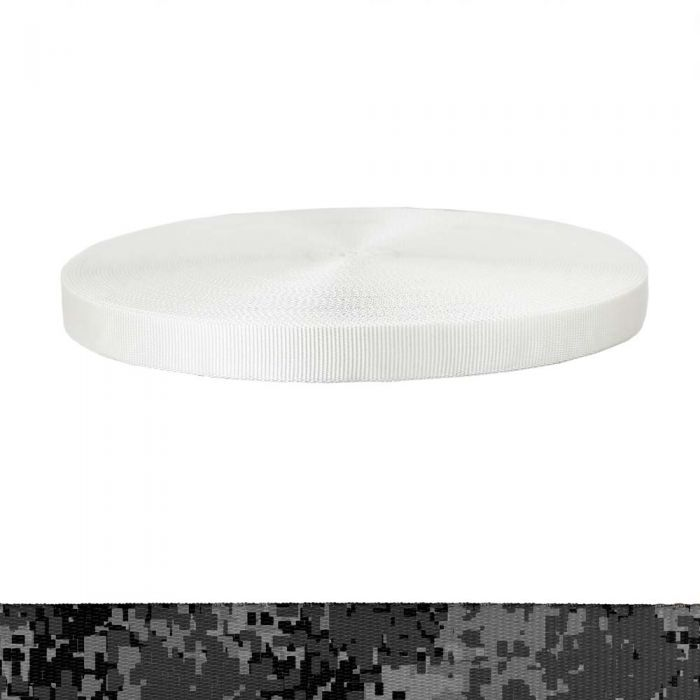 1 Inch Tubular Polyester Camouflage Digital Dark
