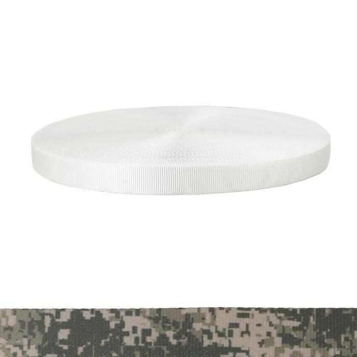 1 Inch Tubular Polyester Camouflage Digital Grunt