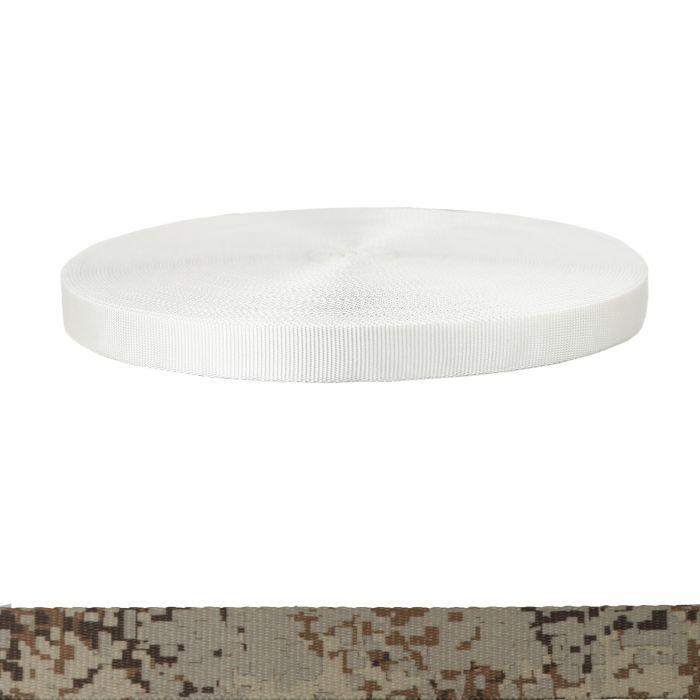 1 Inch Tubular Polyester Camouflage Digital Desert