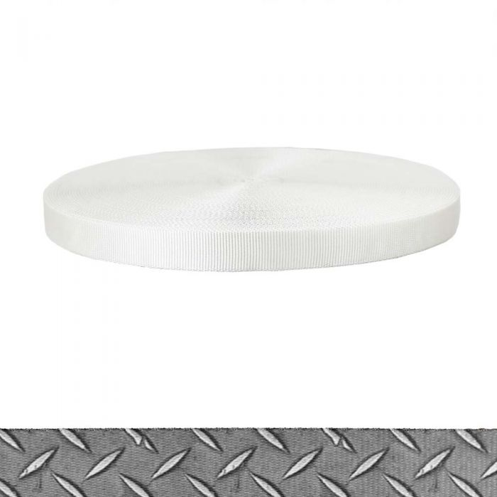 1 Inch Tubular Polyester Diamond Plate