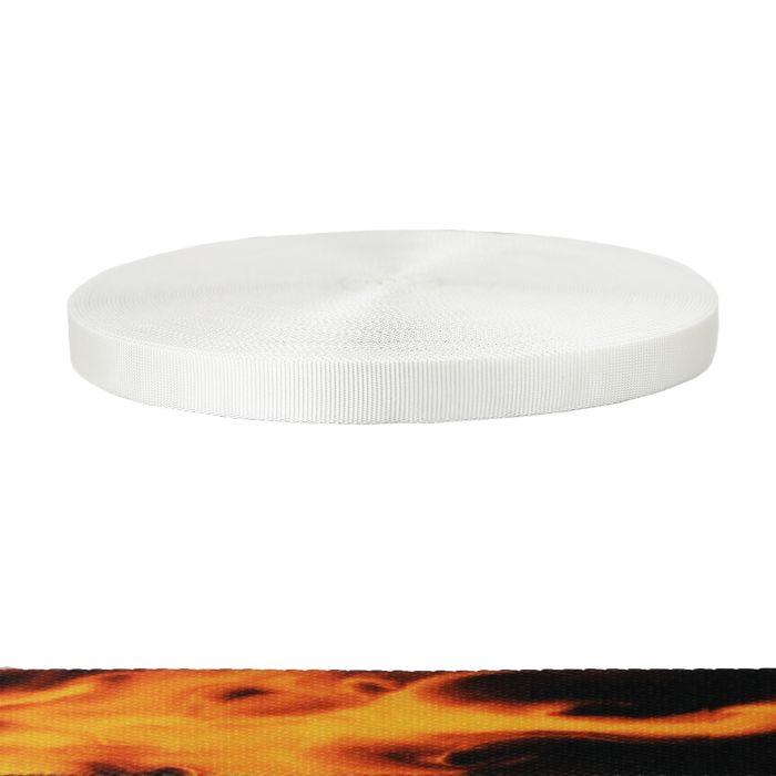 1 Inch Tubular Polyester Fire
