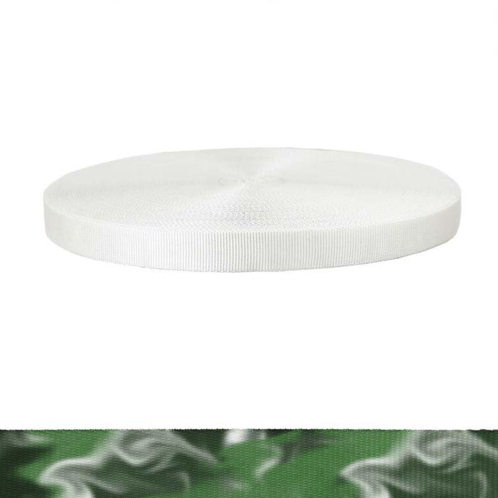1 Inch Tubular Polyester Green Smoke