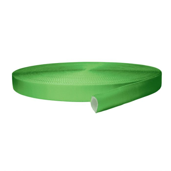 1 Inch Tubular Polyester Lime Green