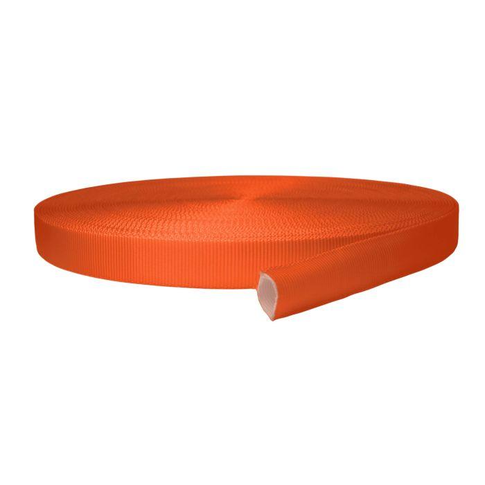 1 Inch Tubular Polyester Orange