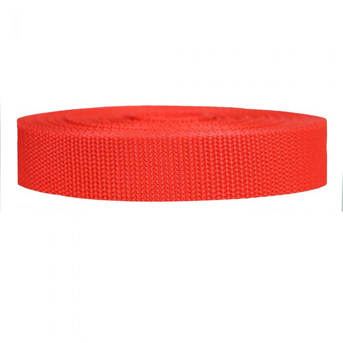 1 Inch Heavyweight Polypropylene Blood Orange