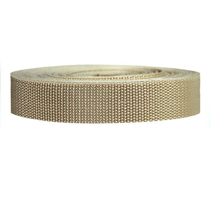 1 Inch Heavyweight Polypropylene Khaki