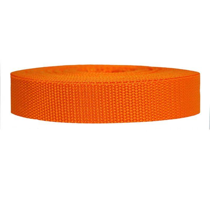 1 Inch Heavyweight Polypropylene Orange