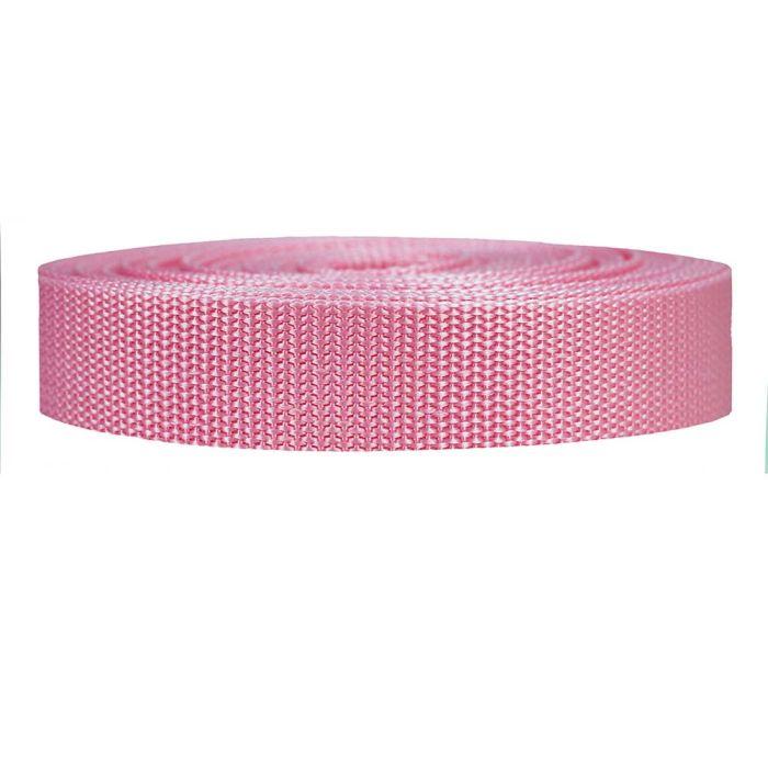 1 Inch Heavyweight Polypropylene Pink