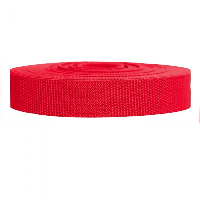 1 Inch Heavyweight Polypropylene Red