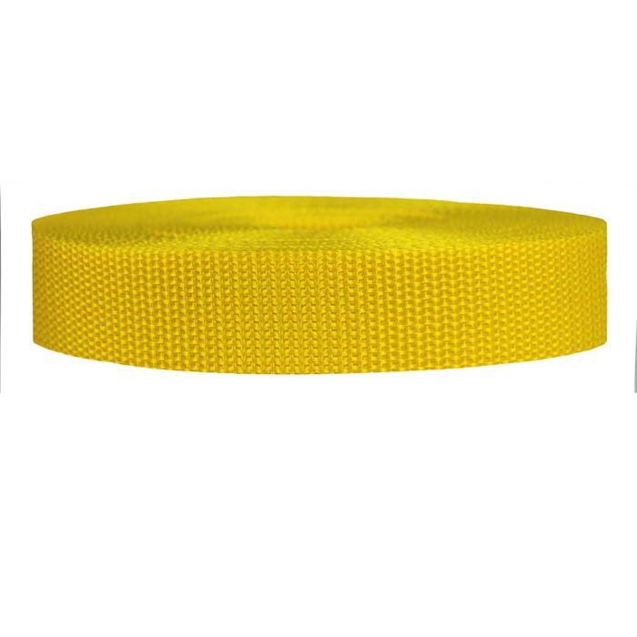 1 Inch Heavyweight Polypropylene Yellow