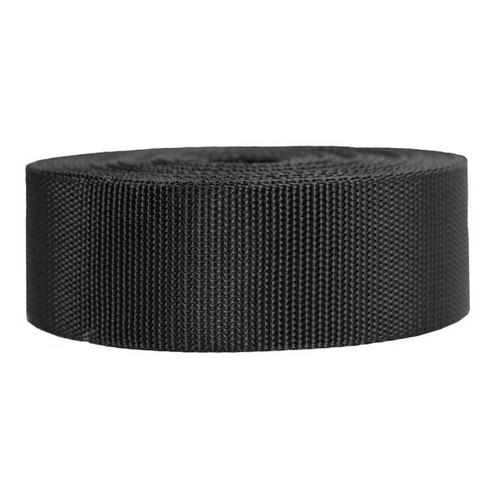 2 Inch Heavyweight Polypropylene Black