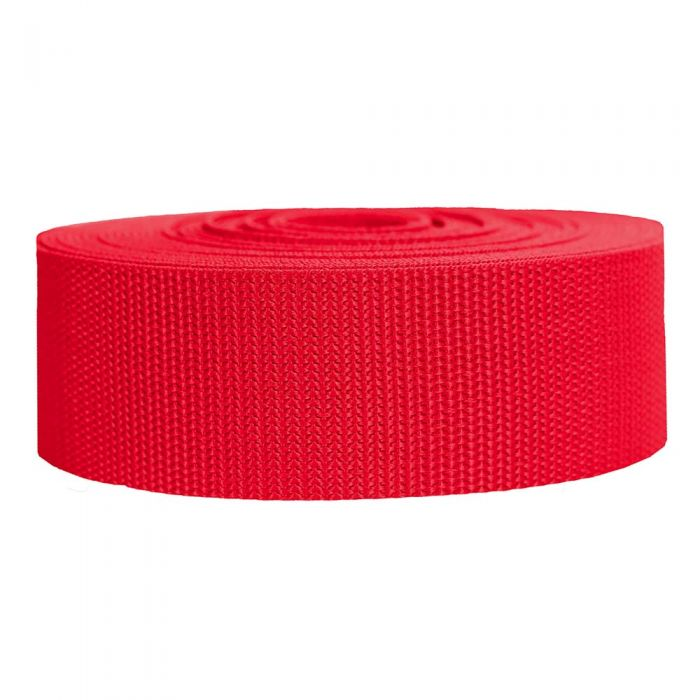 2 Inch Heavyweight Polypropylene Red