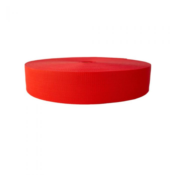 3 Inch Heavyweight Polypropylene Red