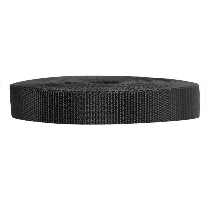 3/4 Inch Heavyweight Polypropylene Black