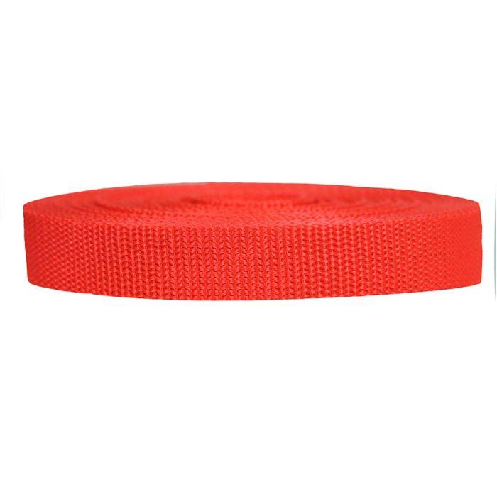 3/4 Inch Heavyweight Polypropylene Blood Orange