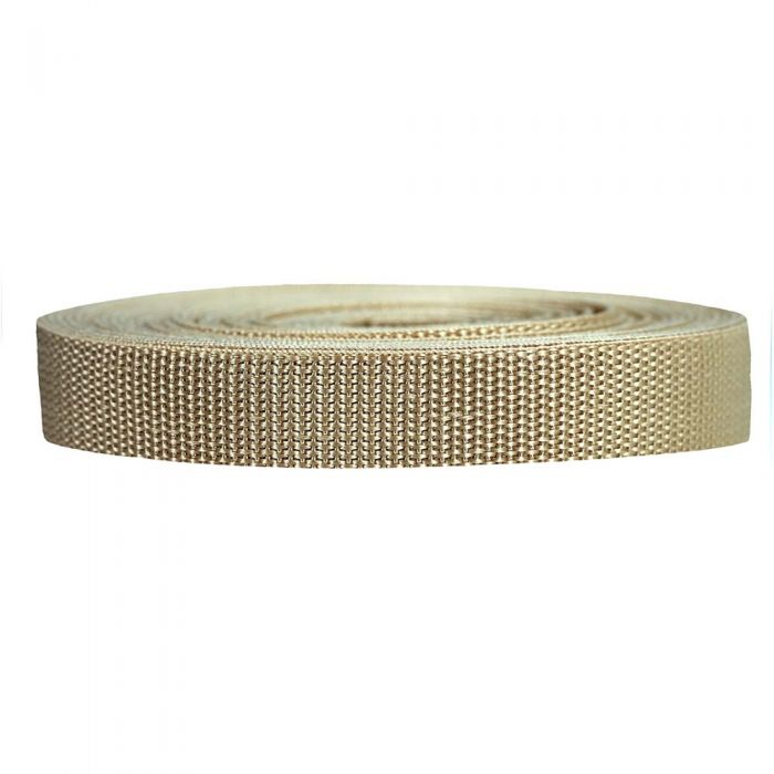 3/4 Inch Heavyweight Polypropylene Khaki