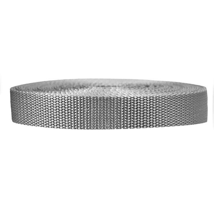 3/4 Inch Heavyweight Polypropylene Silver Gray