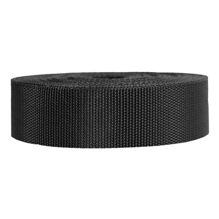1-1/2 Inch Heavyweight Polypropylene Black