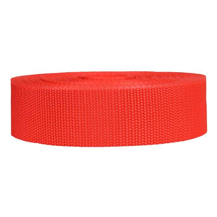 1-1/2 Inch Heavyweight Polypropylene Blood Orange