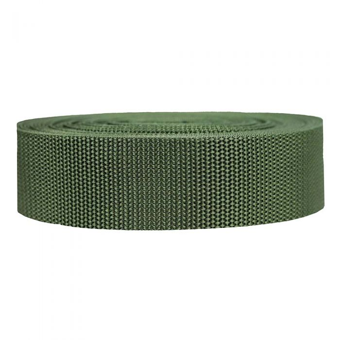 1-1/2 Inch Heavyweight Polypropylene Olive Drab