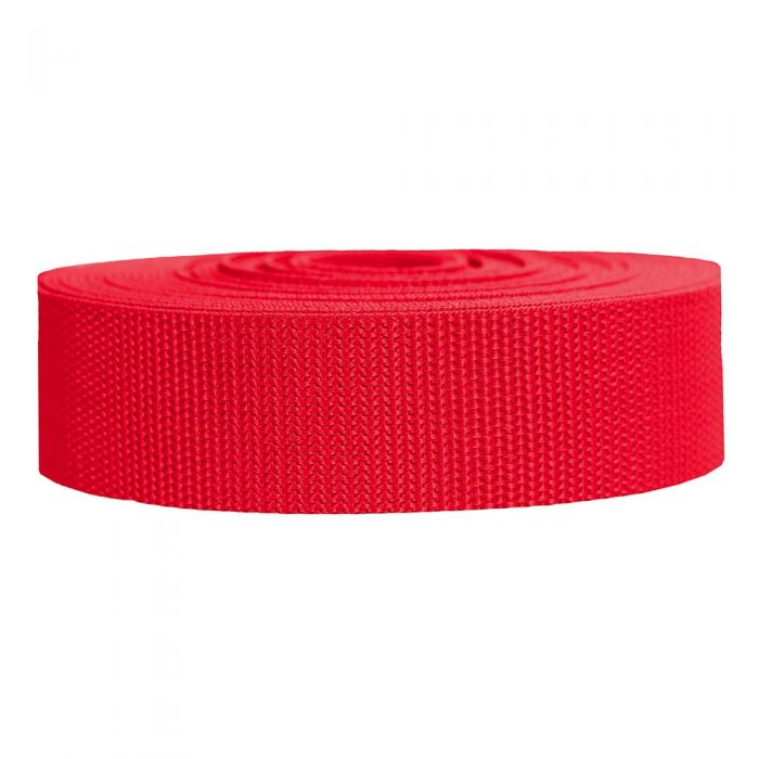 1-1/2 Inch Heavyweight Polypropylene Red