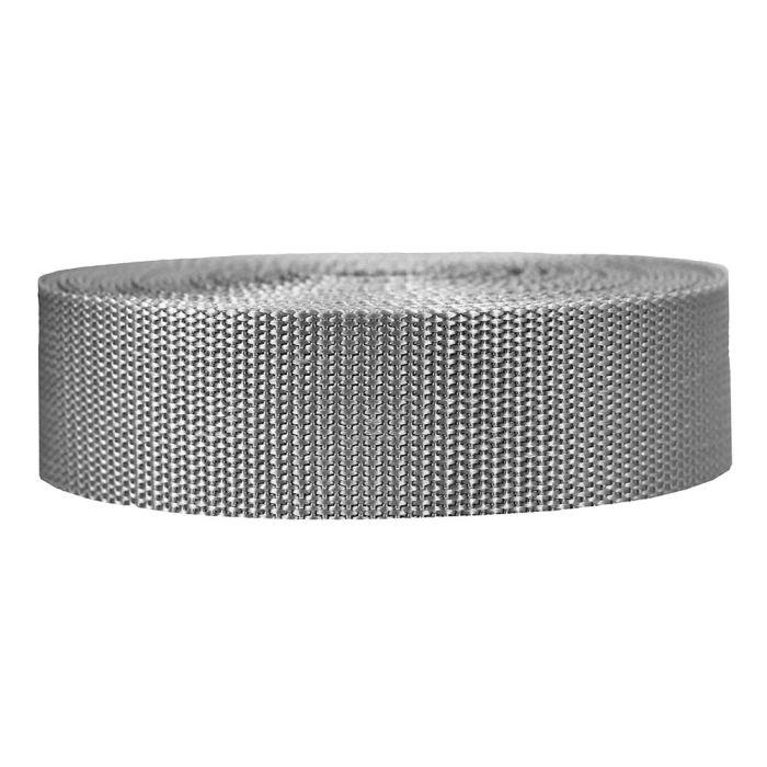 1-1/2 Inch Heavyweight Polypropylene Silver Gray
