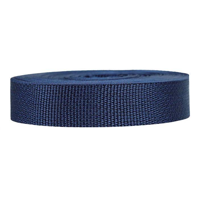 1 Inch Lightweight Polypropylene Navy Blue