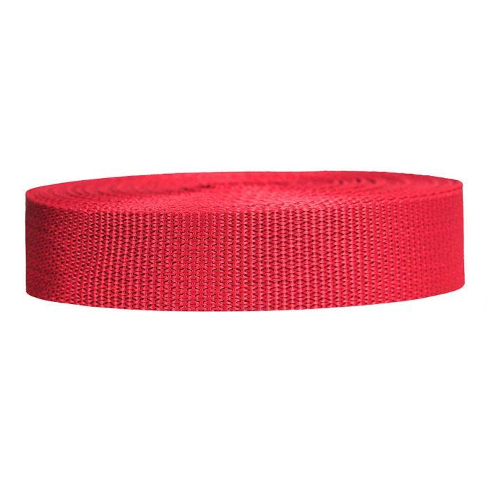 1 Inch Lightweight Polypropylene Red