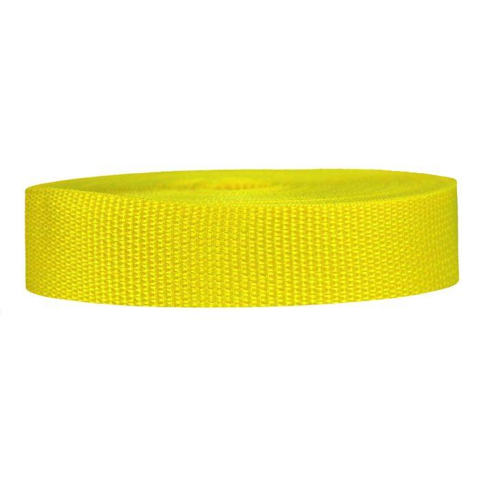 1 Inch Lightweight Polypropylene Yellow