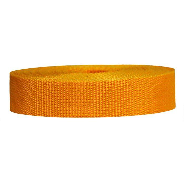 1 Inch Lightweight Polypropylene Yellow Gold