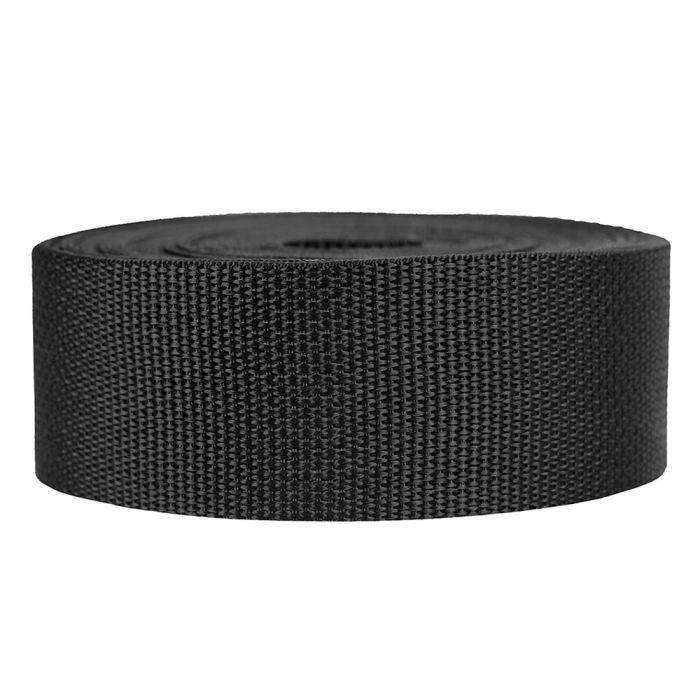 2 Inch Lightweight Polypropylene Black