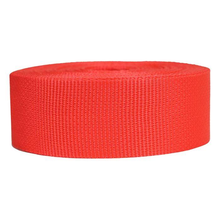 2 Inch Lightweight Polypropylene Blood Orange