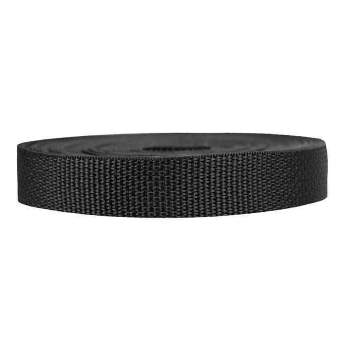 3/4 Inch Lightweight Polypropylene Black