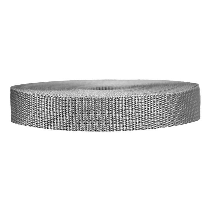 3/4 Inch Lightweight Polypropylene Silver Gray