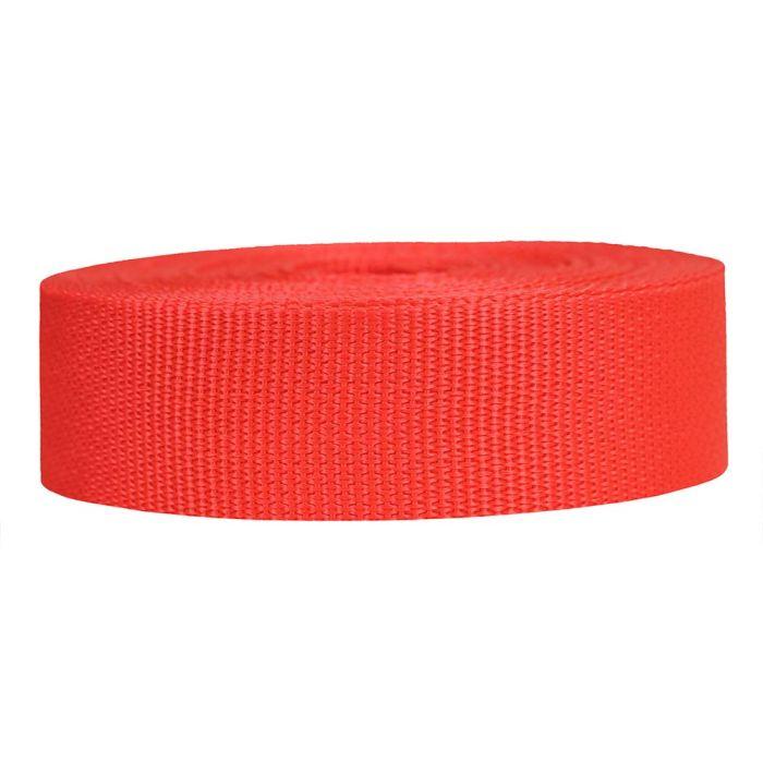 1-1/2 Inch Lightweight Polypropylene Blood Orange